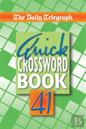 Daily Telegraph Quick Crossword Book 41