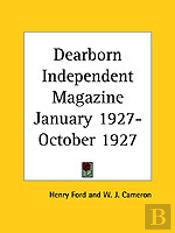 Dearborn Independent Magazine (January 1927-October 1927)