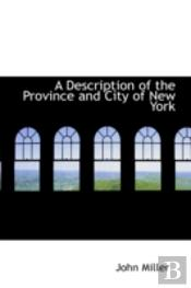 Description Of The Province And City Of New York