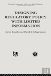 Designing Regulatory Policy With Limited Information