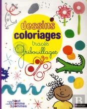 Dessins Coloriages Traces Gribouillages