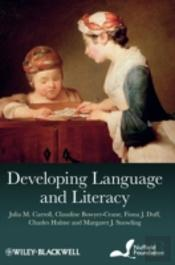 Developing Language And Literacy