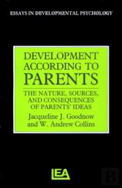 Development According To Parents