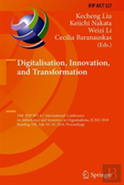 Digitalisation, Innovation And Transformation