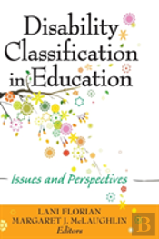 Disability Classification In Education
