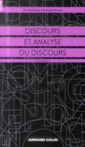 Discours Et Analyse Du Discours ; Synthèse