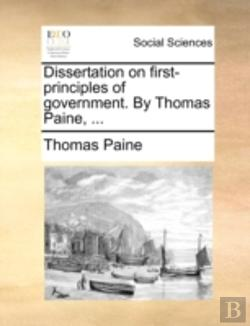 Bertrand.pt - Dissertation On First-Principles Of Gove
