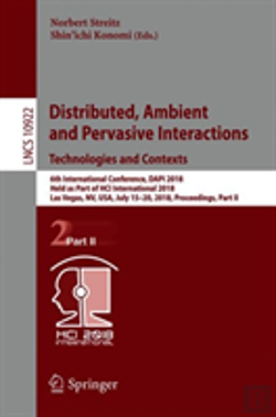 Bertrand.pt - Distributed, Ambient And Pervasive Interactions: Technologies And Contexts