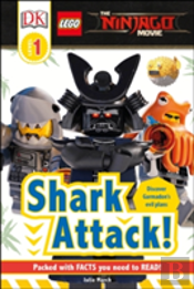Dk Reader Lego(R) Ninjago(R) Movie(Tm) Shark Attack! (Level 1)