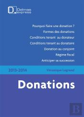 Donations (Édition 2013)