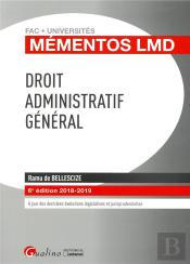 Droit Administratif General - 6eme Edition