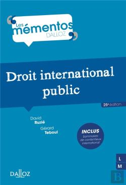 Bertrand.pt - Droit International Public - 25e Ed.