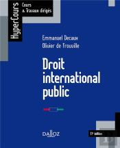 Droit International Public (11e Édition)