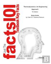 E-Study Guide For: Thermodynamics: An Engineering Approach By Yunus Cengel, Isbn 9780077366742