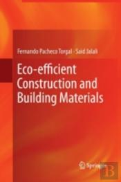 Eco-Efficient Construction And Building Materials