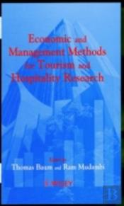 Economic And Management Methods For Tourism And Hospitality Research