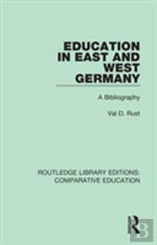 Education In East And West Germany