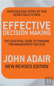 Effective Decision Making