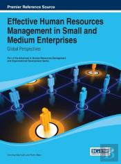 Effective Human Resources Management In Small And Medium Enterprises