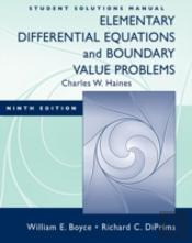 Elementary Differential Equations And Boundary Value Problemsstudent Solutions Manual