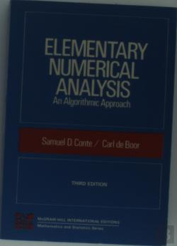 Bertrand.pt - Elementary Numerical Analysis