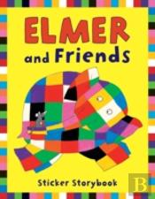 ELMER AND FRIENDS STICKER STORY BOOK
