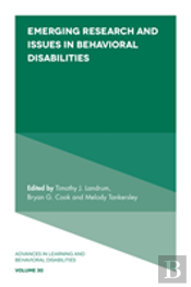 Emerging Research And Issues In Behavioral Disabilities