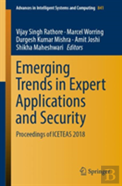 Emerging Trends In Expert Applications And Security