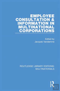 Bertrand.pt - Employee Consultation And Information In Multinational Corporations
