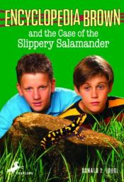 Encyclopedia Brown And The Case Of The Slippery Salamander