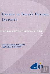 Energy In India'S Future ; Insights
