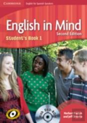 English In Mind For Spanish Speakers Level 1 Student'S Book With Dvd-Rom