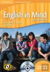 English In Mind For Spanish Speakers Starter Level Student'S Book With Dvd-Rom