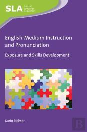 English-Medium Instruction And Pronunciation