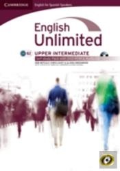 English Unlimited For Spanish Speakers Upper Intermediate Self-Study Pack (Workbook With Dvd-Rom And Audio Cd)