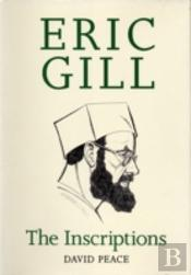 Eric Gill The Inscriptions