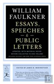 Essays, Speeches And Public Letters