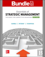 Essentials Of Strategic Management: The Quest For Competitive Advantage