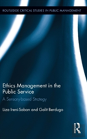 Ethics Management In The Public Services