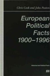 European Political Facts, 1900-96