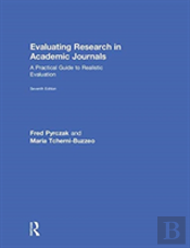 Evaluating Research In Academic Journals