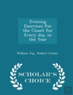 Bertrand.pt - Evening Exercises For The Closet For Eve