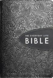 Everyday Life Bible Pewter Leather