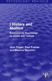 Experimental Psychology Its Scope And Method: Volume I (Psychology Revivals)