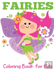 Fairies Coloring Book For Kids