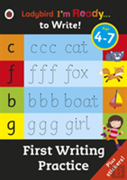 Bertrand.pt - First Writing Practice: Ladybird I'M Ready To Write Sticker Activity Book