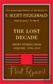 Fitzgerald: The Lost Decade