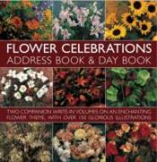 Flower Celebrations Address Book And Day Book Set