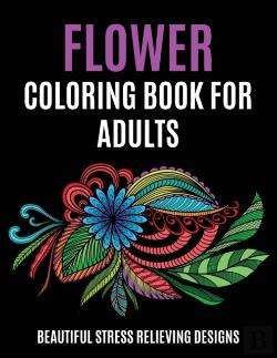 Bertrand.pt - Flower Coloring Book For Adults