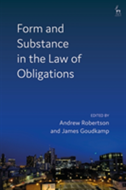 Bertrand.pt - Form And Substance In The Law Of Ob